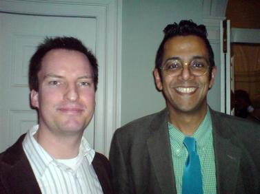 Meeting with Simon Singh at Cambridge University